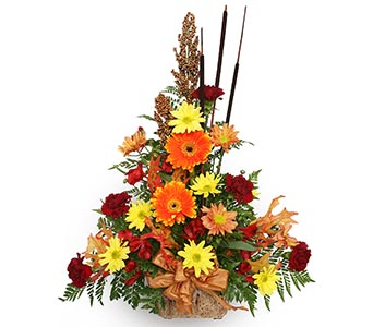 Fall Flower Arrangement in Simcoe ON, Ryerse's Flowers