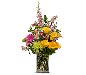 Cheerful in Amherst NY, The Trillium's Courtyard Florist