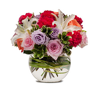 Potpourri of Roses in Spartanburg SC, A-Arrangement Florist