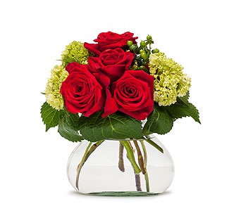 Romance in Inver Grove Heights MN, Glassing Florist