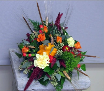 Bountiful Cornucopia in Traverse City MI, Teboe Florist