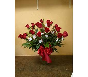 2Dozen Red Roses in Rancho Cordova CA, Roses & Bows Florist Shop