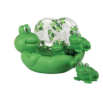 Frog Bath Set in Detroit and St. Clair Shores MI, Conner Park Florist