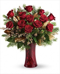 A Christmas Dozen in Clearwater FL, Hassell Florist