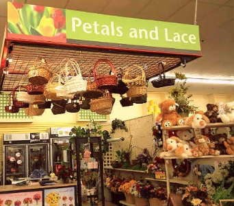 Visit our store! in Barrington Passage NS, Petals & Lace Flower Shop
