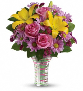 Teleflora's Spring Serenade Bouquet in New Paltz NY, The Colonial Flower Shop