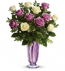 Teleflora's Wrapped In Lavender Bouquet in Oklahoma City OK, Array of Flowers & Gifts