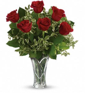 You Have My Heart Bouquet by Teleflora in The Woodlands TX, Rainforest Flowers