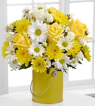 The Color Your Day With Sunshine� Bouquet in Chicago IL, Yera's Lake View Florist