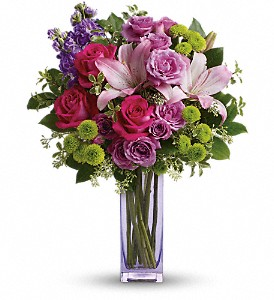 Teleflora's Fresh Flourish Bouquet in Highland CA, Hilton's Flowers