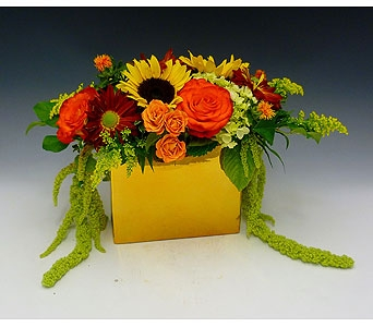 24 Karat Fall in Kirkland WA, Fena Flowers, Inc.
