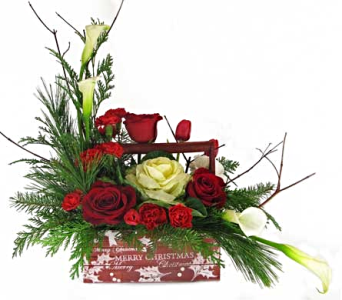 Merry Christmas in Amherst NY, The Trillium's Courtyard Florist