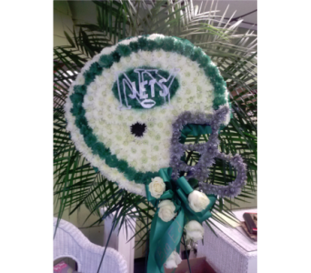 New York Jets Helmet in Freehold NJ, Especially For You Florist & Gift Shop