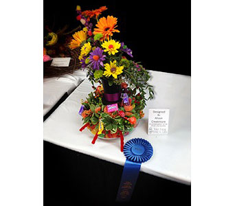 Alison 1st Place - 2013 NC State Fair in Wake Forest NC, Wake Forest Florist