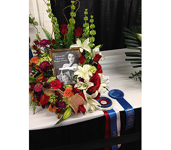 Seraph 1st Place and Best in Show - 2013 NC State Fair in Wake Forest NC, Wake Forest Florist