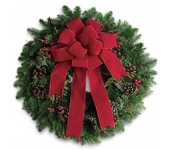 Fresh Noble Wreath in Little Rock AR, Tipton & Hurst, Inc.