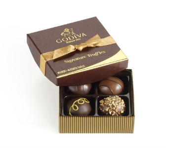 Signature Chocolate Truffles Gift Box in Bayside NY, Bell Bay Florist