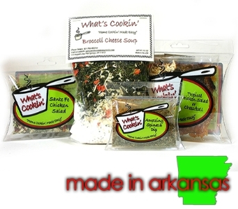 What's Cookin' Soup & Dip Mixes in Little Rock AR, Tipton & Hurst, Inc.