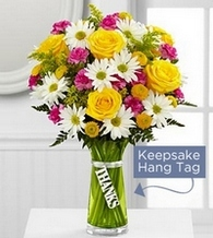 The Thanks Bouquet in Chicago IL, Yera's Lake View Florist