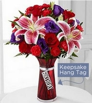 The Birthday Wishes Bouquet in Chicago IL, Yera's Lake View Florist