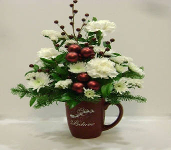 Believe Holiday Mug in Herndon VA, Herndon Florist, Inc
