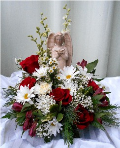 Angel of Peace in Kennett Square PA, Barber's Florist Of Kennett Square