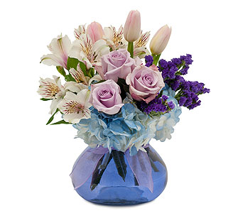 Soft Romance in Spartanburg SC, A-Arrangement Florist