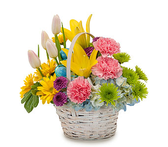 Springtime in Mount Morris MI, June's Floral Company & Fruit Bouquets