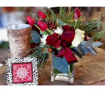 Love and Joy in Orinda CA, Misaghi Design Orinda Florist
