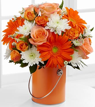 The Color Your Day with Laughter� Bouquet  in Chicago IL, Yera's Lake View Florist