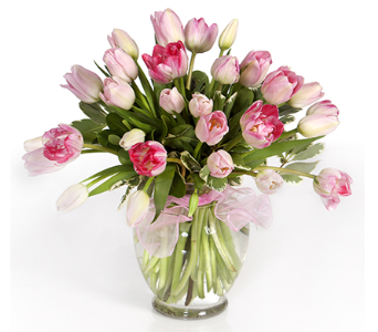 Kiss My Tulips (Pink) in Little Rock AR, Tipton & Hurst, Inc.