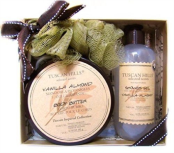 Tuscan Hills Body 3 piece Body Care Set in Columbus OH, OSUFLOWERS .COM