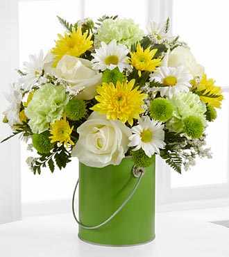 The Color Your Day With Joy� Bouquet in Chicago IL, Yera's Lake View Florist