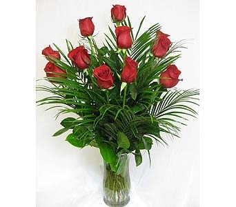Dozen Roses in McKinney TX, Edwards Floral Design