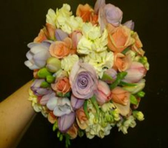 Wedding Bouquet 27 in Frankfort IL, The Flower Cottage