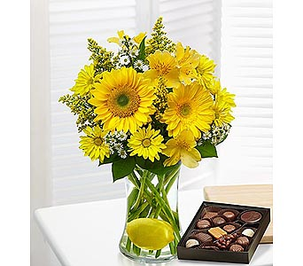 Make Lemonade with Chocolate in Palm Desert CA, Milan's Flowers & Gifts