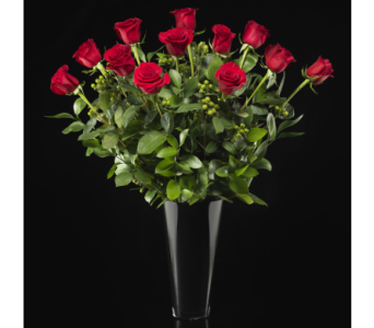 Luxurious Long Stem Red Roses in Boston MA, Stapleton Floral