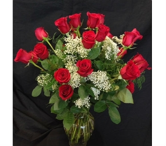 Classic 24 Red Roses in Dallas TX, Z's Florist