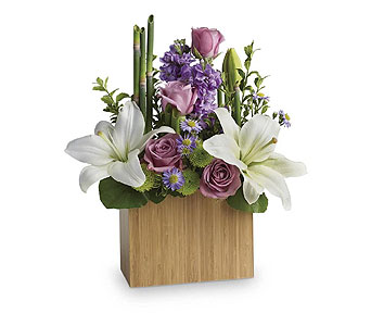 February's Bouquet- Kissed with Bliss in Casper WY, Keefe's Flowers