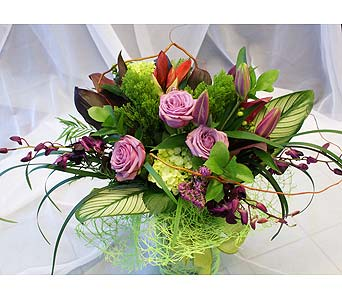 Grapevine Winery CUT BOUQUET in Victoria BC, Fine Floral Designs
