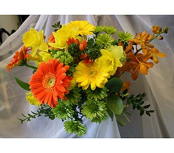 Sunshine Beauty CUT BOUQUET in Victoria BC, Fine Floral Designs