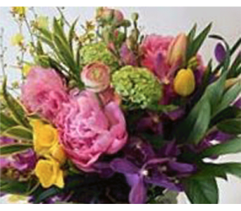 Garden Sensation CUT BOUQUET in Victoria BC, Fine Floral Designs