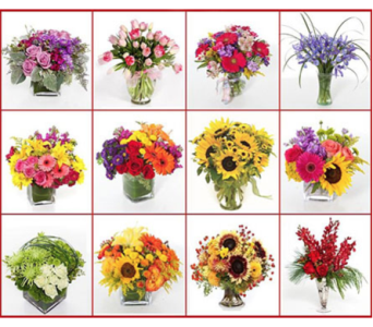 Seasonal Bouquets for a Year in Little Rock AR, Tipton & Hurst, Inc.