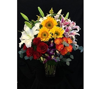 Andrew's Block of Colors in Dallas TX, Z's Florist
