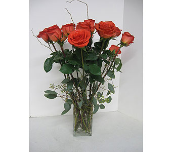 Artistic Rose Bouquet in Geneva NY, Don's Own Flower Shop