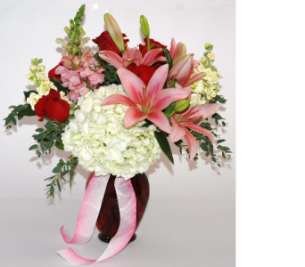 -The Blushing Beauty in Northfield MN, Forget-Me-Not Florist