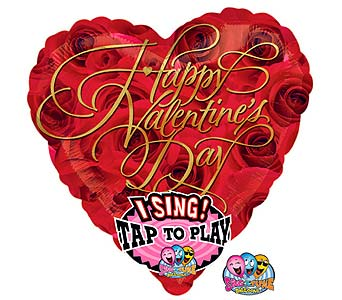 "VB104  ""HVD Singing Balloon"" JUMBO in Oklahoma City OK, Array of Flowers & Gifts"