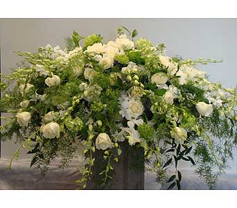 Casket Spray in Victoria BC, Fine Floral Designs