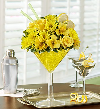 Lemon Martini Bouquet in Camp Hill and Harrisburg PA, Pealers Flowers