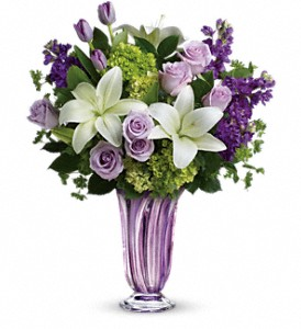 Teleflora's Royal Treasure Bouquet in Tyler TX, Country Florist & Gifts
